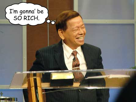 Arsenio Ferriol says he's gonna' be so rich.