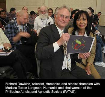 Richard Dawkins and Marissa Torres Langseth