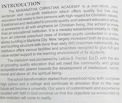 PMCC 4th Watch School Text Book Page